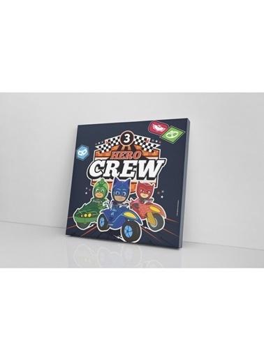 Pj Masks Pj Masks Hero Crew Kanvas Tablo 40x40 cm Renkli